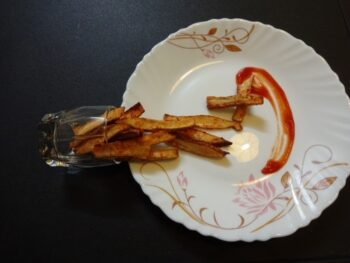 Raw Banana French Fries - Plattershare - Recipes, Food Stories And Food Enthusiasts