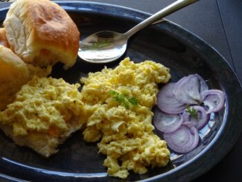 Scrambled Egg - Plattershare - Recipes, Food Stories And Food Enthusiasts
