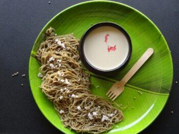 Pearl Millet (Bajra) Idiyappam - Plattershare - Recipes, Food Stories And Food Enthusiasts