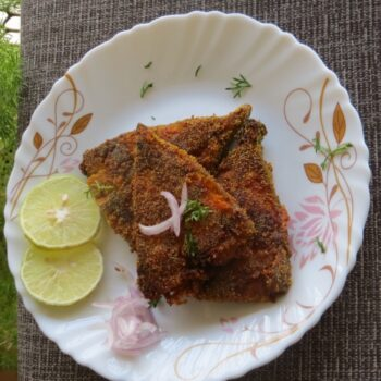 Black Pomfret Fry - Plattershare - Recipes, Food Stories And Food Enthusiasts