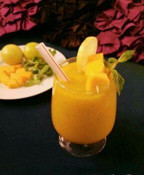 Mango Mint Limeade Slush - Plattershare - Recipes, Food Stories And Food Enthusiasts