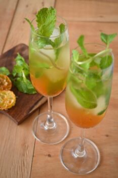 Salted Caramelized Lime Mojito - Plattershare - Recipes, Food Stories And Food Enthusiasts