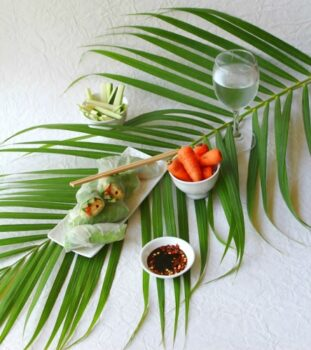 Rice Paper Rolls - Plattershare - Recipes, Food Stories And Food Enthusiasts