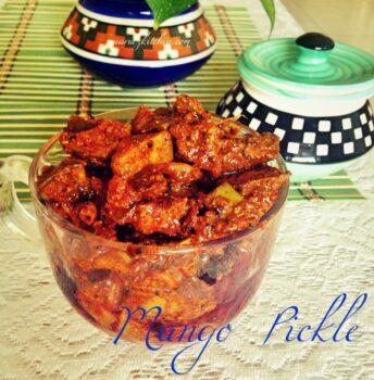 Mango Pickle / Aam Ka Achaar - Plattershare - Recipes, Food Stories And Food Enthusiasts