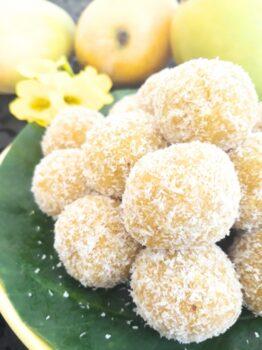 Mangoo &Amp; Coconut Ladoos - Plattershare - Recipes, Food Stories And Food Enthusiasts