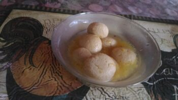 Mango Rasgulla - Plattershare - Recipes, Food Stories And Food Enthusiasts