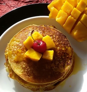 Mango Pancake - Plattershare - Recipes, Food Stories And Food Enthusiasts