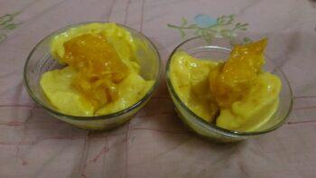 Frozen Mango Yogurt - Plattershare - Recipes, Food Stories And Food Enthusiasts