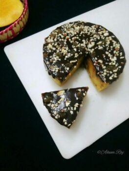 No Bake Mango Semolina Cake - Plattershare - Recipes, Food Stories And Food Enthusiasts