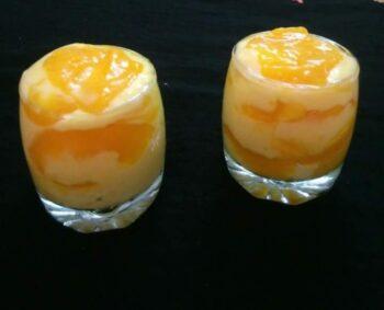 Mango Custard Pudding - Plattershare - Recipes, Food Stories And Food Enthusiasts