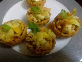 Bigbasket , Mango Oats Tart - Plattershare - Recipes, Food Stories And Food Enthusiasts