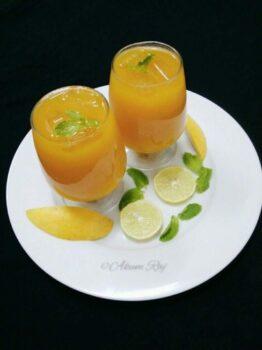 Mango Iced Tea - Plattershare - Recipes, Food Stories And Food Enthusiasts
