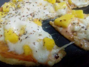 Bigbasket,Mango Pizza - Plattershare - Recipes, Food Stories And Food Enthusiasts