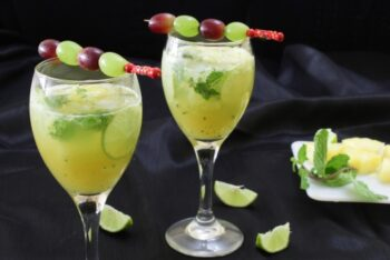 Pineapple Virgin Mojito - Plattershare - Recipes, Food Stories And Food Enthusiasts