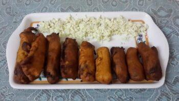Stuffed Chilli Pakoda - Plattershare - Recipes, Food Stories And Food Enthusiasts