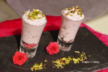 Rose Yogurt (Gulab Shrikhand) - Plattershare - Recipes, Food Stories And Food Enthusiasts