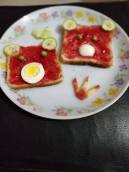 Toast With Teddy - Plattershare - Recipes, Food Stories And Food Enthusiasts