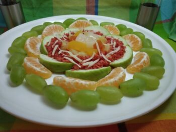 Fruits Salad With Raw Mango - Plattershare - Recipes, Food Stories And Food Enthusiasts