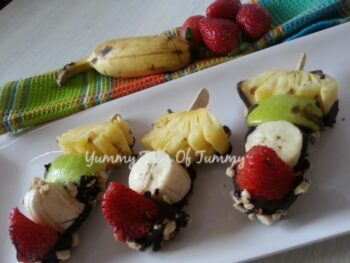 Fruity And Nutty Sticks - Plattershare - Recipes, Food Stories And Food Enthusiasts