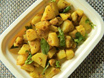 Cumin Spiced Potato Fry (Aloo Jeera) - Plattershare - Recipes, Food Stories And Food Enthusiasts