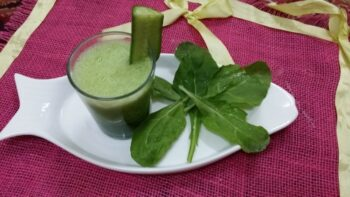 Cucumber, Spinach And Lemon Juice (Green Juice) - Plattershare - Recipes, Food Stories And Food Enthusiasts