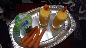 Yoghurt Carrot Juice - Plattershare - Recipes, Food Stories And Food Enthusiasts
