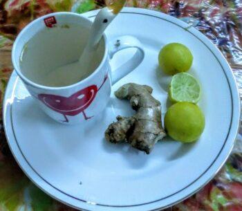 Ginger Lemon Tea - Plattershare - Recipes, Food Stories And Food Enthusiasts