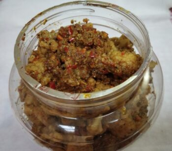 Cauliflower Pickle - Plattershare - Recipes, Food Stories And Food Enthusiasts