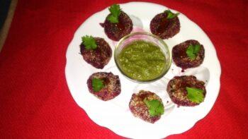 Amla Beetroot Tikki - Plattershare - Recipes, Food Stories And Food Enthusiasts