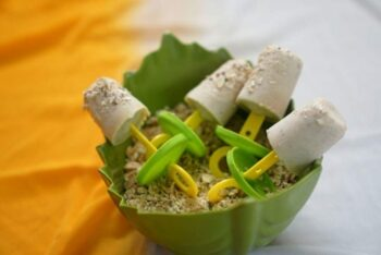 Oats And Almond Praline Kulfi - Plattershare - Recipes, Food Stories And Food Enthusiasts