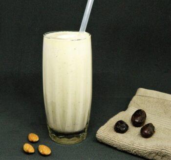Almond Dates Milkshake - Plattershare - Recipes, Food Stories And Food Enthusiasts