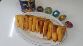 Sandwich Custard Pancakes... - Plattershare - Recipes, Food Stories And Food Enthusiasts