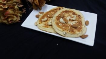 Dry Fruit Pancakes... - Plattershare - Recipes, Food Stories And Food Enthusiasts