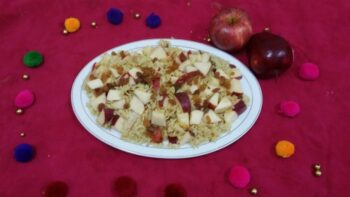 Red Apple Pulao - Plattershare - Recipes, Food Stories And Food Enthusiasts