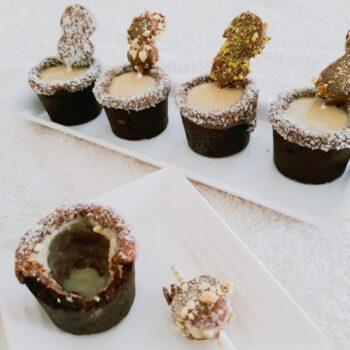 Chocolate Chip Cookie Shots - Oats Banana Nuts Milk Shake - Chocolate Banana Sticks - Plattershare - Recipes, Food Stories And Food Enthusiasts