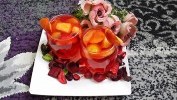 Rose Peach Lemonade - Plattershare - Recipes, Food Stories And Food Enthusiasts