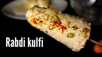 Rabdi Kulfi - Plattershare - Recipes, Food Stories And Food Enthusiasts
