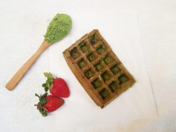 Wheat Grass Amaranth Waffles - Plattershare - Recipes, Food Stories And Food Enthusiasts