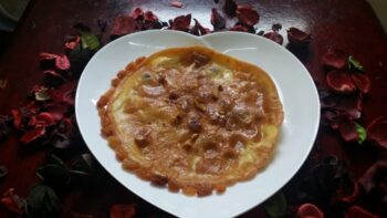 Shomlette (Egg With Sugar And Dry Fruits) - Plattershare - Recipes, Food Stories And Food Enthusiasts