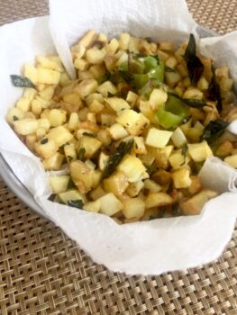 Potato Bhaji - Plattershare - Recipes, Food Stories And Food Enthusiasts
