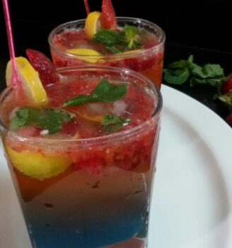 Strawberry Virgin Mojitto - Plattershare - Recipes, Food Stories And Food Enthusiasts