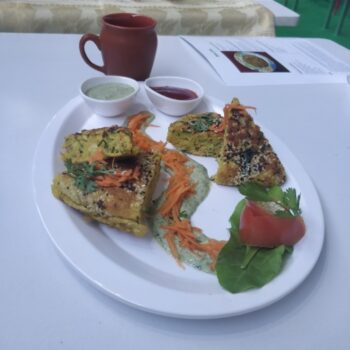 Millets Frittata - Plattershare - Recipes, Food Stories And Food Enthusiasts