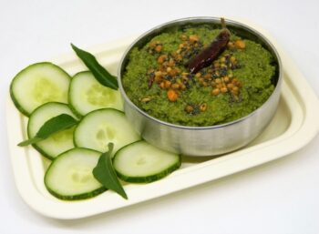 Curry Leaves And Cucumber Thuvaiyal - Plattershare - Recipes, Food Stories And Food Enthusiasts