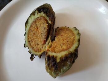 Stuffed Bitter Melon - Plattershare - Recipes, Food Stories And Food Enthusiasts