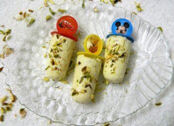 Mawa(Koya) Elachi Nutty Kulfi - Plattershare - Recipes, Food Stories And Food Enthusiasts