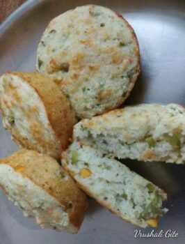 Savoury Semolina Cheese Muffins - Plattershare - Recipes, Food Stories And Food Enthusiasts