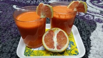 Grapefruit And Carrot Juice - Plattershare - Recipes, Food Stories And Food Enthusiasts