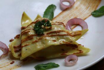 Smoked Chicken Tikka Ravioli - Plattershare - Recipes, Food Stories And Food Enthusiasts