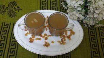 Kishmish Ab (Afghani Drink) - Plattershare - Recipes, Food Stories And Food Enthusiasts