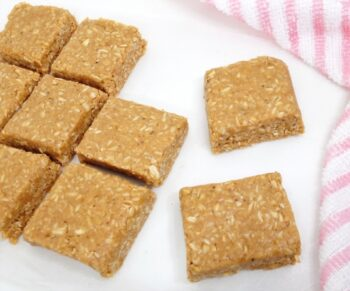 Peanut Butter Honey Oats Protein Bars | No Bake Peanut Butter And Oats Bar - Plattershare - Recipes, Food Stories And Food Enthusiasts